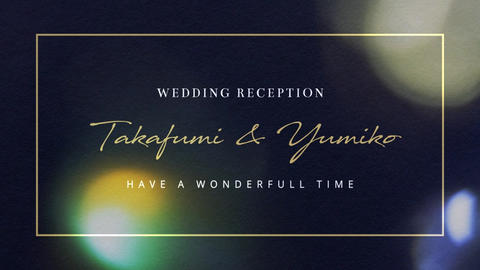 Luxury Wedding Opening Movie|Gold After Effects Template