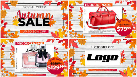 Autumn SALE After Effects Template