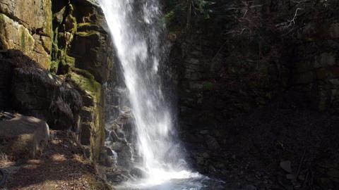 長野県上松町 小野の滝 ビデオ