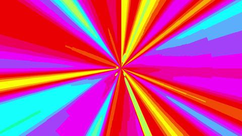 Mov137 speed anime colorful line bg 01 Stock Video Footage