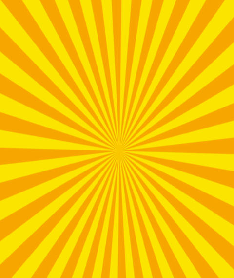 Multicoloured Sunbeam Background Animation, Seamless Loop Vertical Background Animation
