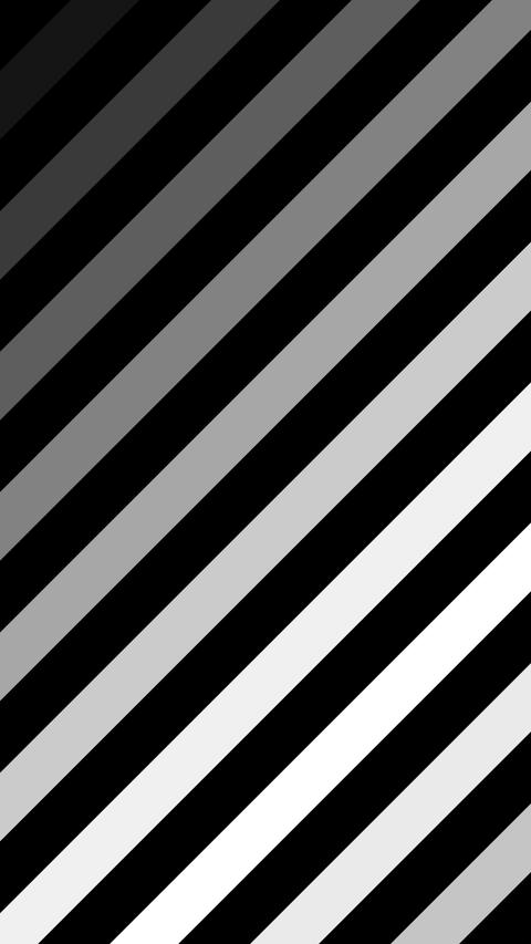 Black and white strips animation on alpha matte vertical background. Can be used for various social Animation