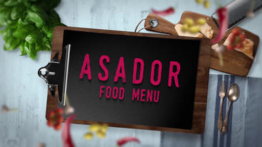Food Menu Presentation Vol 2 After Effects Template