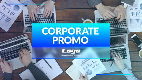 Corporate Promo Business Slideshow After Effects Template