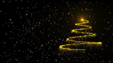 Christmas tree animation background Videos animados