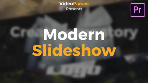 Modern Slideshow Premiere Proテンプレート