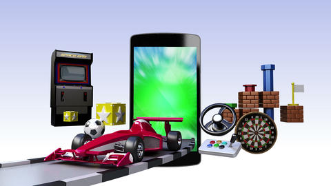 Game contents for Smart phone,mobile devices, Entertainment contents Animation