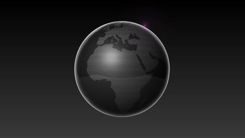Start Africa,Growing Global Network Black earth-black... Stock Video Footage
