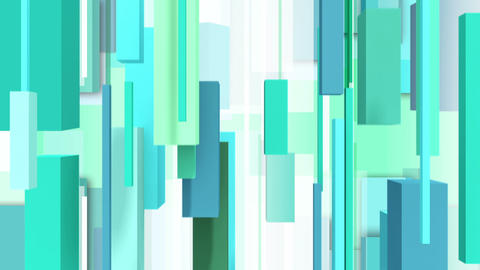 Abstract green background with vertically square Stock Video Footage