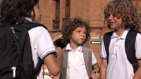 Teamwork Among School Students Footage