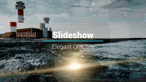 Slideshow - Elegant Glasses Premiere Proテンプレート