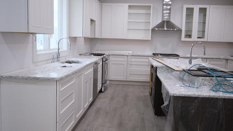Kitchen remodel home improvement view installed a new kitchen Footage
