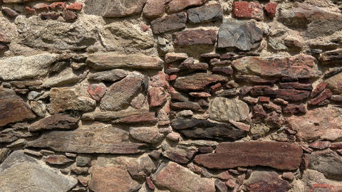 Old castle stone wall.Texture of a stone wall, Live Action