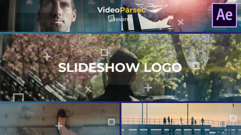 Slideshow Logo After Effects Template