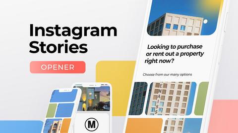 Instagram Stories Slideshow Plantillas de Motion Graphics