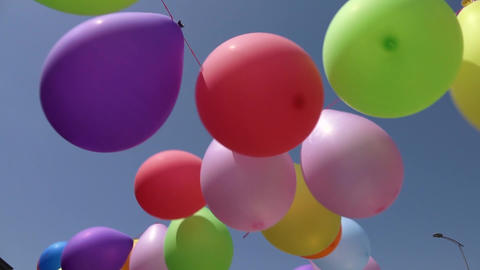 Colorful Balloons Live Action