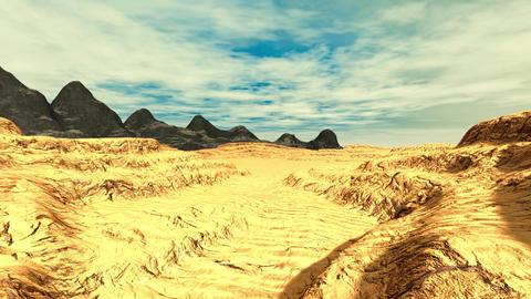 Mountain landscape Animation