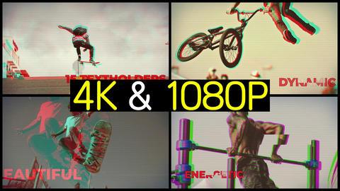 Energetic Sport Intro Premiere Proテンプレート