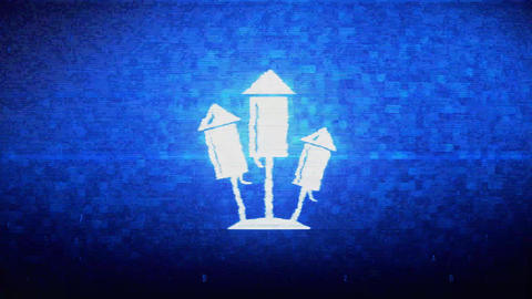 Flying firecracker, light explosion, explosive, fireworks Symbol Digital Pixel Live Action