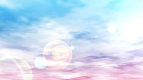 Mov140 cloud bluesky loop bg 07 CG動画