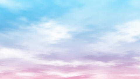 Mov140 cloud bluesky loop bg 02 CG動画
