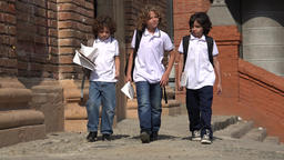 Child Prep School Students Live Action
