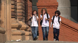 Kids Eating Junk Food Footage