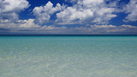Tropical seascape Footage