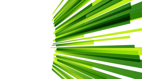 Abstract green straight stripes animation for titling ,intro or opener After Effects Template
