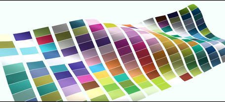 Waving colorful checkered flag element for presentation ,intro or opener After Effects Project
