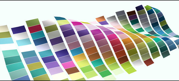 Waving colorful checkered flag element for presentation ,intro or opener After Effects Template
