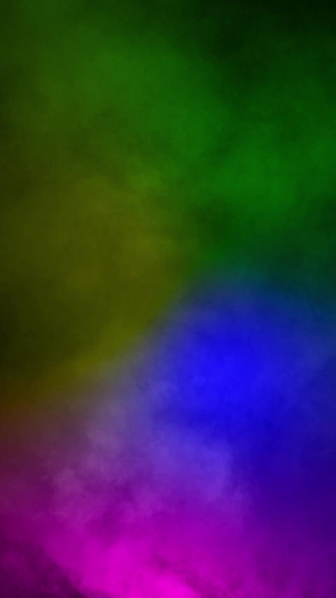 Fog smoke rainbow color loop animation Animation
