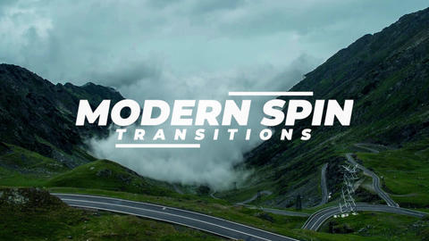 Modern Spin Transitions Premiere Pro Effect Preset