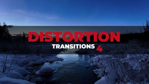 Distortion Transitions 4 Premiere Proエフェクトプリセット