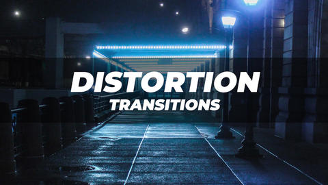 Distortion Transitions v 3 Premiere Proエフェクトプリセット
