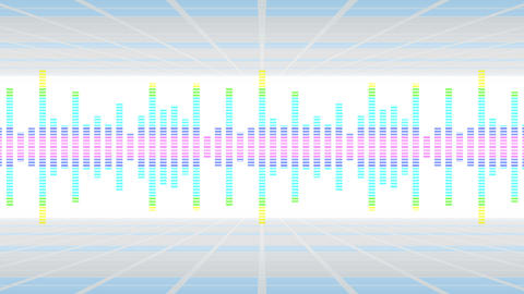 Colorful sound waves for party. Disco background.…, Stock Animation