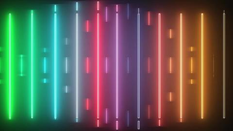 Neon Line Animation
