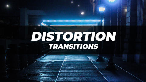 Distortion Transitions 3 After Effectsアニメーションプリセット