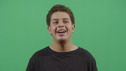 Contagious Laughter Of A Young Boy Footage