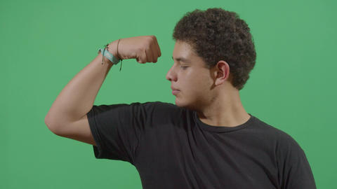 Muscular Young Boy Live Action
