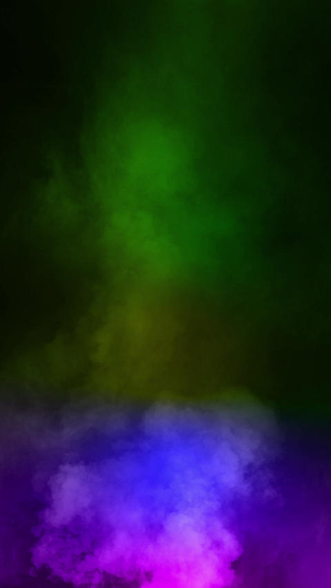 Fog smoke rainbow loop animation Animation