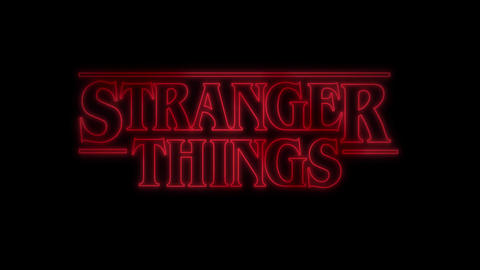 """STARANGER THINGS"" Title Animation Template After Effects Template"