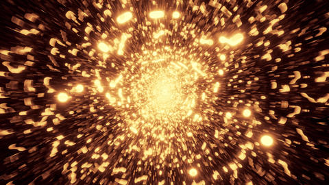 abstract golden design galaxy 3d illustration background wallpaper motion design Animation