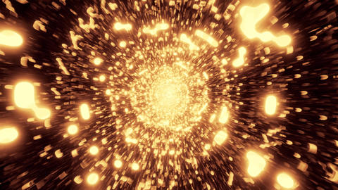 abstract golden design galaxy 3d illustration background... Stock Video Footage