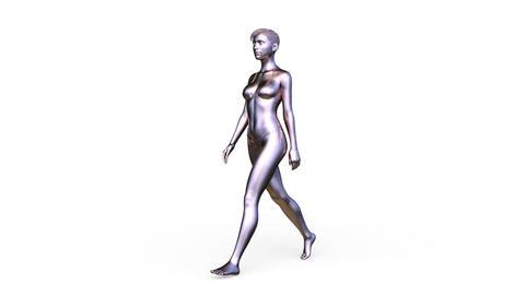 Walking human Animation