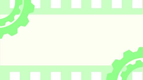 Gearbox7 green CG動画素材
