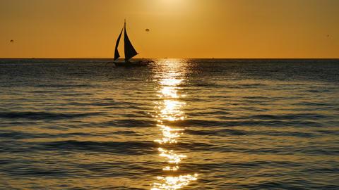 Sunset cruise Footage