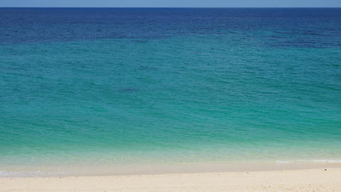 Beautiful tropical beach Footage