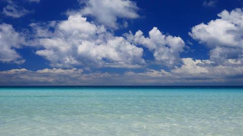 Peaceful tropical sea scenery Footage