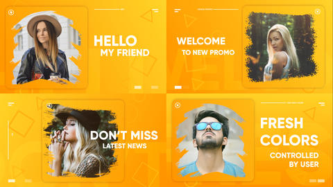 Clean Modern Promo After Effects Template